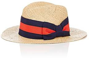 Barneys New York WOMEN'S WIDE-RIBBON STRAW HAT