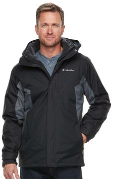 Columbia Men's Rockaway Mountain Interchange Systems Jacket