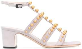 Pollini embellished T-bar sandals
