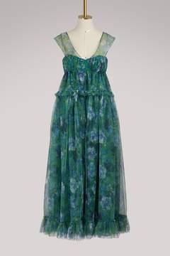 Erdem Pia tulle long dress