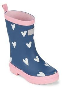 Hatley Baby's, Toddler's & Girl's Sprinkled Hearts Vulcanized Rubber Rain Boots
