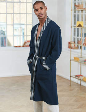 Boden Reversible Piqué Dressing Gown