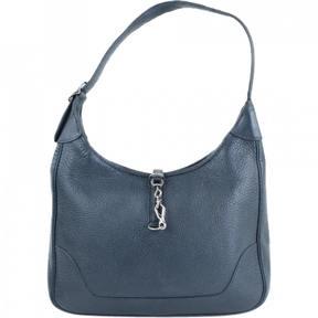 Hermes Trim leather handbag - BLACK - STYLE