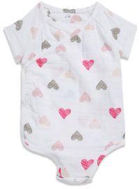 Aden Anais aden + anais Baby's Heart Kimono Bodysuit