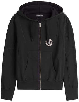 Alexander McQueen Zipped Cotton Hoody
