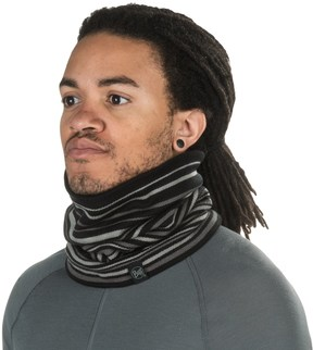 Buff Knit Neck Gaiter - Fleece Lined (For Men and Women)
