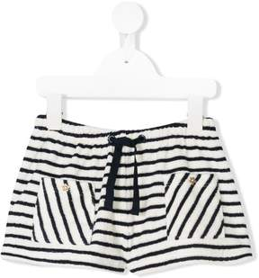 Emile et Ida striped casual shorts