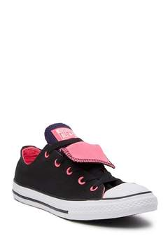 Converse Chuck Taylor All Star Double Tongue Oxford (Little Kid & Big Kid)