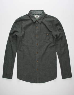 VISSLA El Morro Mens Flannel Shirt