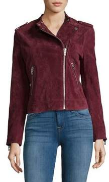 Blank NYC BLANKNYC Ruby Suede Leather Jacket