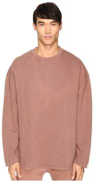 adidas by Kanye West YEEZY SEASON 1 Long Sleeve Crew Shirt Men's Clothing