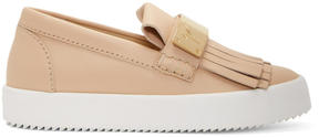 Giuseppe Zanotti Beige May London Moccasin Sneakers