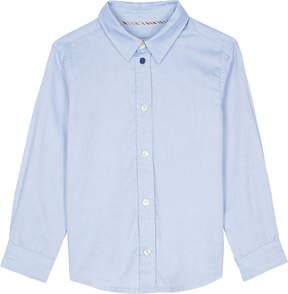 Paul Smith Negend striped trim cotton shirt 4-16 years