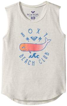 Roxy Kids Beach Club Muscle Tank Top Girl's Sleeveless