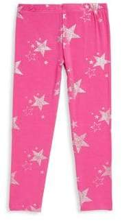 Design History Toddler's& Little Girl's Star Leggings