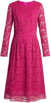 ADAM by Adam Lippes Long-sleeved guipure-lace cotton-blend dress