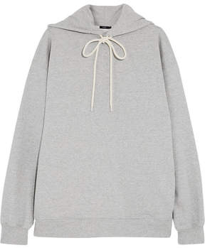 Bassike Oversized Cotton-jersey Hooded Top - Gray