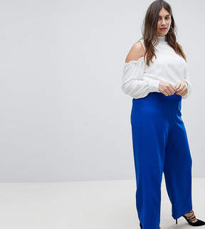 Fashion Union Plus Wide Leg Tailored Pants Two-Piece