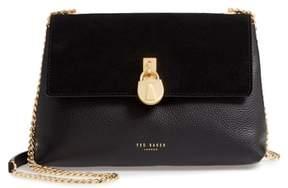 Ted Baker Padlock Leather Crossbody Bag