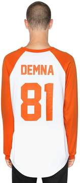 Les (Art)ists Demna Printed Cotton Jersey T-Shirt