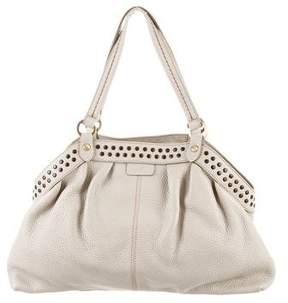 Hogan Studded Leather Shoulder Bag