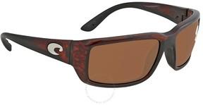 Costa del Mar Fantail Copper Rectangular Sunglasses TF 10 OCGLP
