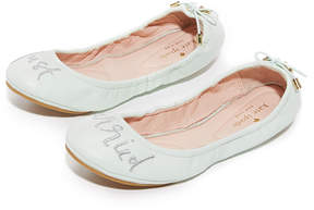 Kate Spade Gwen Just Married Ballet Flats