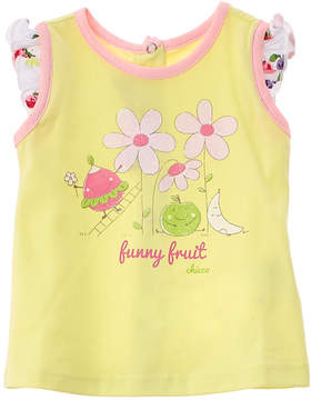 Chicco Girls' Yellow Funny Fruit Tank