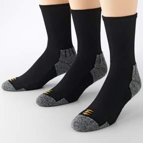 Gold Toe Goldtoe GOLDTOE 3-pk. PowerSox Power-Lites Crew Socks