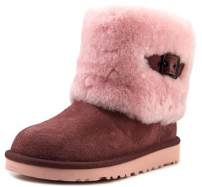 UGG Ellee Youth US 1 Purple Ankle Boot