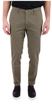 Re-Hash Men's Green Cotton Pants.