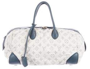 Louis Vuitton Denim Speedy Round MM
