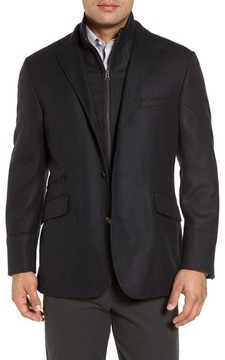 Kroon Men's Ritchie Aim Hybrid Classic Fit Wool & Cashmere Sport Coat