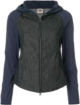Colmar bicolour hooded jacket