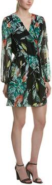 Adelyn Rae Crossover Mini Dress