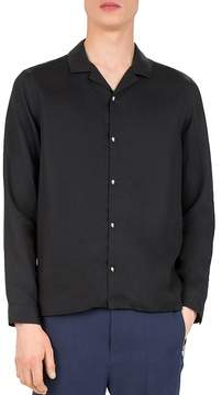 The Kooples Soft Feel Slim Fit Button-Down Shirt