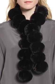 Ted Baker Women's Faux Fur Pom Scarf
