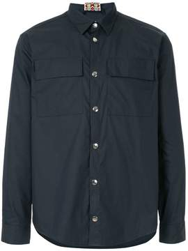 MSGM snap button shirt