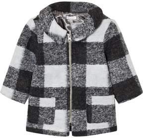 Absorba Grey Check Coat