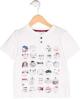 Little Marc Jacobs Boys' Graphic Print Short Sleeve Shirt