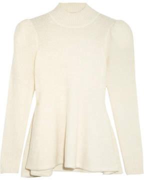 Co Cashmere-blend Bouclé Sweater - Ivory