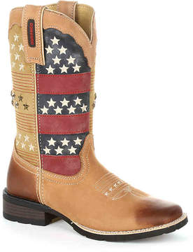 Durango Women's Pull-On Mustang Cowboy Boot