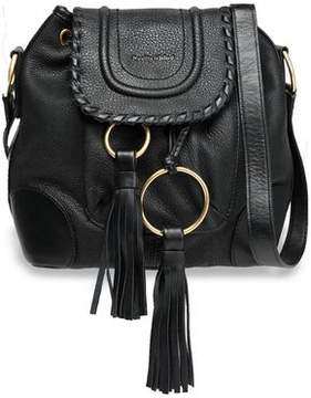 See by Chloe Polly Tasseled Textured-Leather Bucket Bag