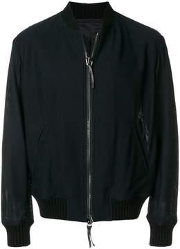 Giorgio Armani fully zipped bomber jacket