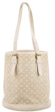 Louis Vuitton Mini Lin Petit Bucket Bag - NEUTRALS - STYLE