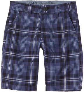 Nautica Boys' Plaid Short