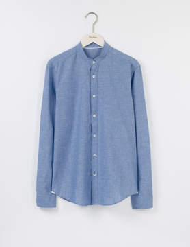 Boden Linen Cotton Grandad Shirt