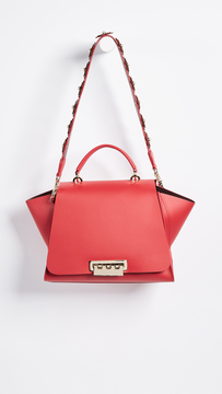 Zac Posen Eartha Iconic Soft Top Handle Satchel