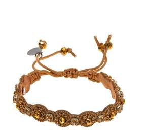 Deepa Gurnani deepa by Lilia Beaded Adjustable Circle Bracelet