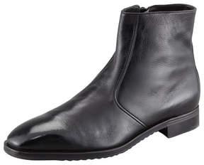 Gravati Side Zip Dress Demi Boot, Black